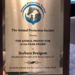 Animal Protector of the Year Award - Barbara Bruigom